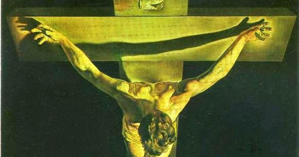 S. Dali - Christ-of Saint John of the Cross -1951